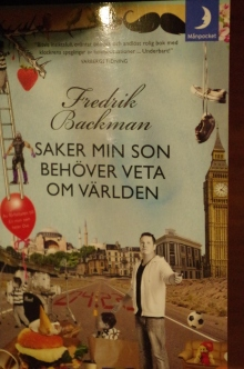Saker min son behöver veta Fredrik Backman (2)