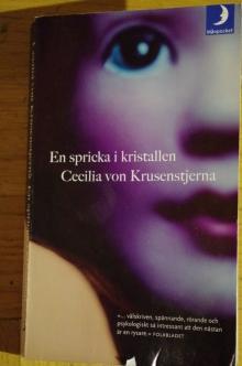 En spricka i kristallen Cecilia von Krusenstjerna