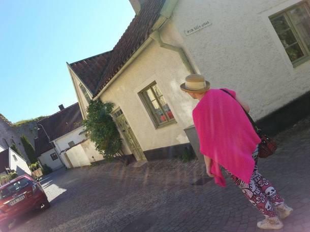 På vandring i Visby